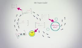 HR Team and Goals