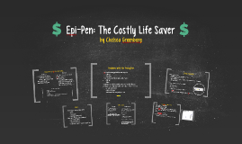 Epi-Pen: The Costly Life Saver
