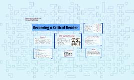 Becoming a Critical Reader - 2017