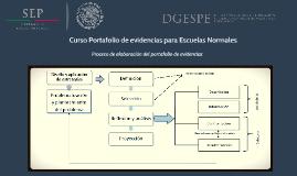 Copy of Curso Portafolio de evidencias para las escuelas normales