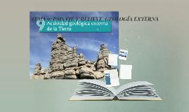 TEMA 9: PAISAJE Y RELIEVE. GEOLOGÍA EXTERNA