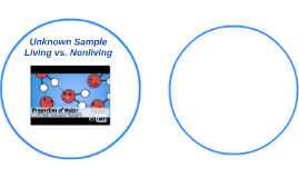 Unknown Sample Living vs. Nonliving