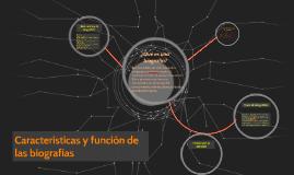 Copy of Características y función de las biografías