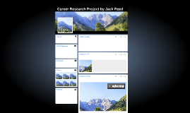 Career Research Project by Jack Reed