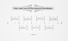 Pro's And Cons Of The Industrial Revolution