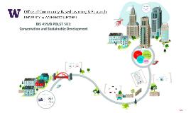 BIS 459/BPOLST 583: Conservation and Sustainable Development