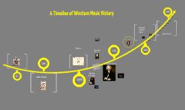Music History Timeline draft