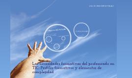 Mapa conceptual-Las necesidades formativas del profesorado en TIC