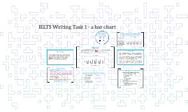 IELTS Writing Task 1 - a bar chart