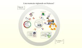 Une Monnaie Régionale en Hainaut