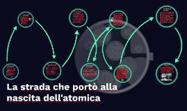 La strada che portò alla nascita dell'atomica
