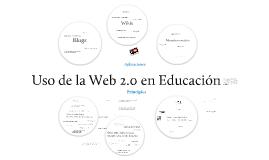 Uso de la Web 2.0 en educación
