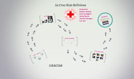 LA CRUZ ROJA BOLIVIAN