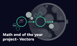 Math end of the year project- Vectors