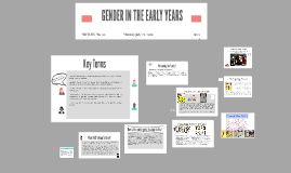 GENDER IN THE EARLY YEARS