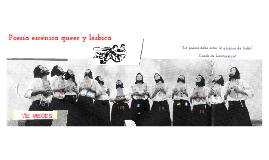 """Copy of """"Poesía escénica queer y lésbica actual. una aproximación desde las bambalinas"""""""
