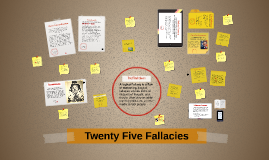 Copy of Fallacies