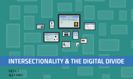 INTERSECTIONALITY & THE DIGITAL DIVIDE