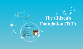 The Citizen's Foundation (TCF)