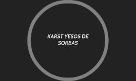 KARST YESOS DE SORBAS