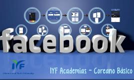 IYF Academias - Coreano Básico