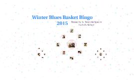 Winter Blues Basket Bingo 2015