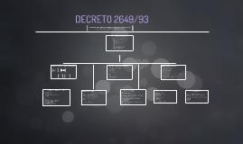 DECRETO 2649/93