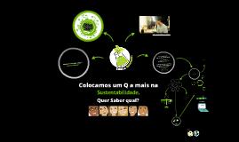 Apresentação do Blog Química Sustentável.
