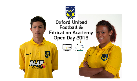 Copy of Oxford United Football & Education Academy
