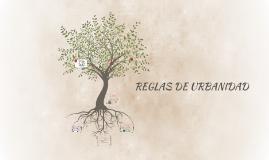 REGLAS DE URBANIDAD