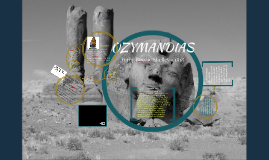 Ozymandias - USG 5th Form