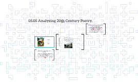 05.05 Analyzing 20th Century Poetry.