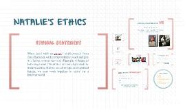 Natalie's Ethics