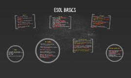 ESOL BASICS
