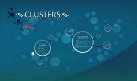 ---CLUSTERS---