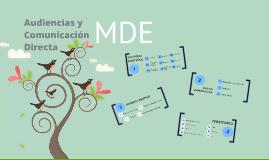 Audiencias y Comunicación Directa MDE