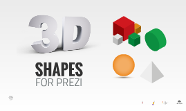 Copy of Copy of 3D Shapes in Prezi - Free Template