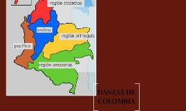 DANZAS DE COLOMBIA