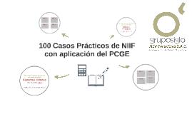 Copy of 100 Casos Prácticos de NIIF con aplicación del PCGE