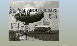 ALL ABOUT BLIMPS