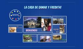 La casa de Samar y Freshta!