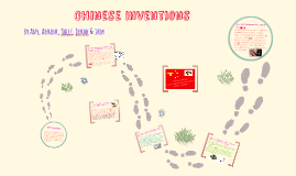 Copy of Chinese Inventions and Remedies