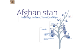 Hospitality, Resilience, Turmoil, and Hope:  A History of Afghanistan