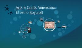 Arts & Crafts Americano: