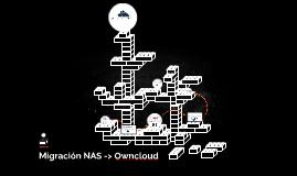 Migración NAS -> Owncloud