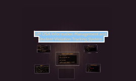 UM OSA Information Management and Student Violation Tracking