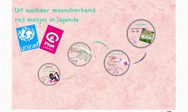 Uitwasbaar maand verband red meisjes in uganda