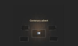 Centenary advert