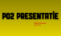 Po2 Presentatie