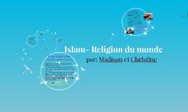 Islam- Religion du monde
